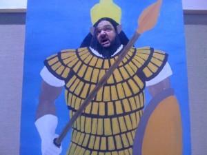 Jon as Goliath